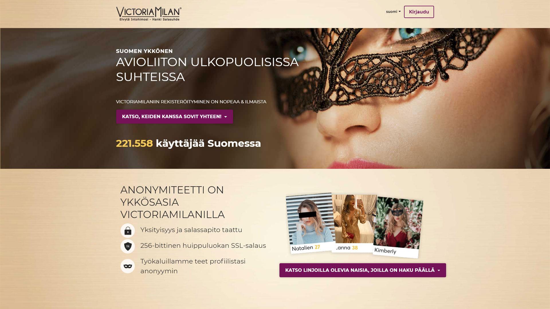 VictoriaMilan - victoriamilan.fi